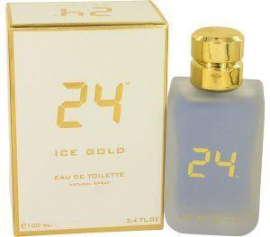 24 Ice Gold Cologne, de ScentStory · Perfume de Hombre