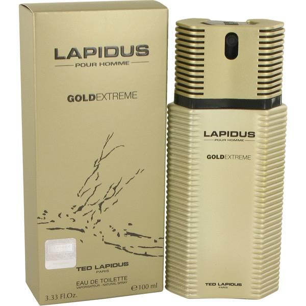 perfume Lapidus Gold Extreme Cologne