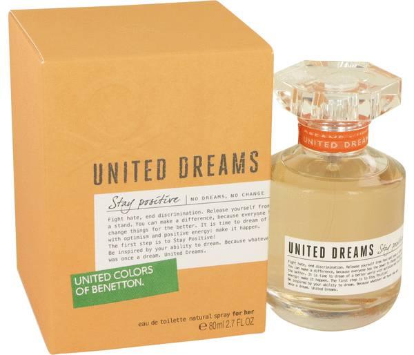 perfume United Dreams Stay Positive Perfume