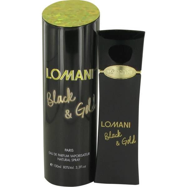 perfume Lomani Black & Gold Perfume