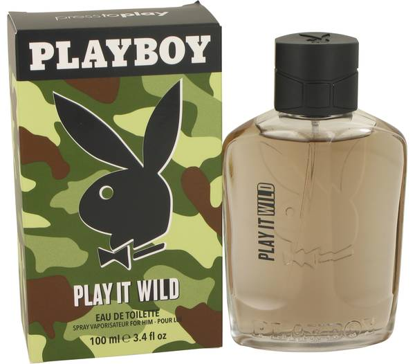 perfume Playboy Play It Wild Cologne