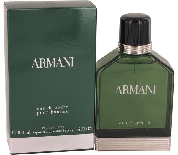 perfume Armani Eau De Cedre Cologne