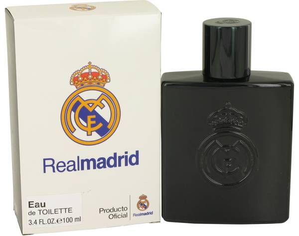 perfume Real Madrid Black Cologne