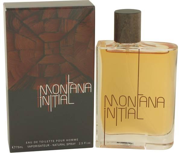 perfume Montana Initial Cologne