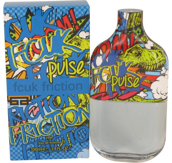 perfume Fcuk Friction Pulse Cologne