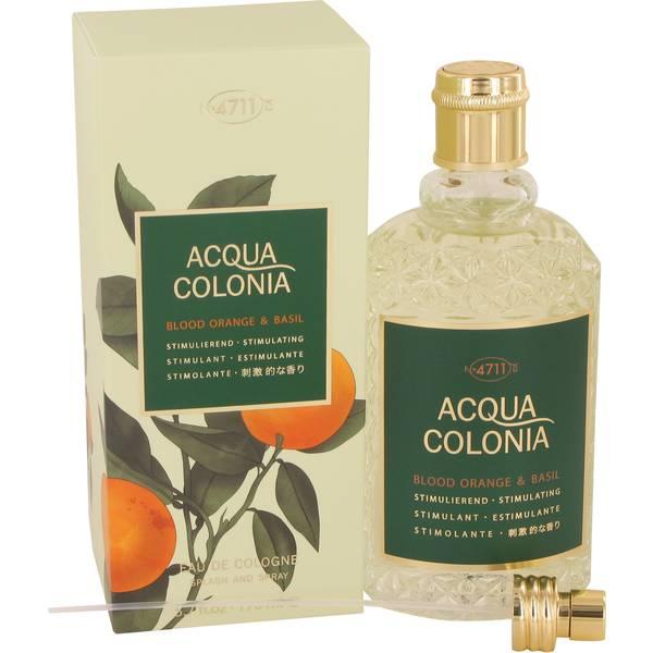perfume 4711 Acqua Colonia Blood Orange & Basil Perfume