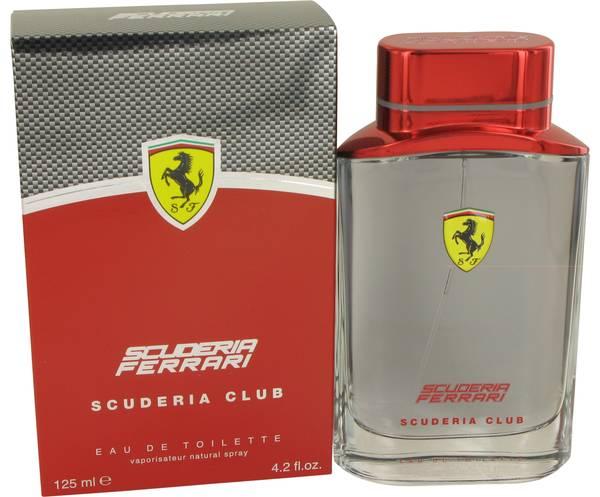 perfume Ferrari Scuderia Club Cologne