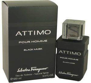 Attimo Black Musk Cologne, de Salvatore Ferragamo · Perfume de Hombre
