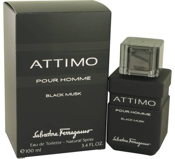 perfume Attimo Black Musk Cologne