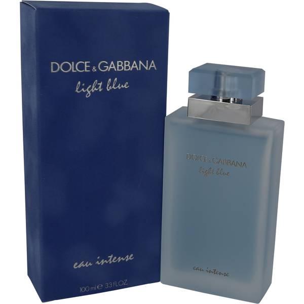 perfume Light Blue Eau Intense Perfume