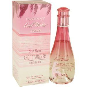 Cool Water Sea Rose Exotic Summer Perfume, de Davidoff · Perfume de Mujer