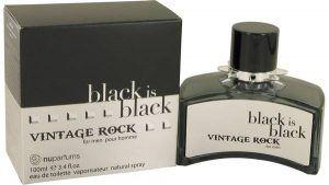 Black Is Black Vintage Rock Cologne, de Nu Parfums · Perfume de Hombre