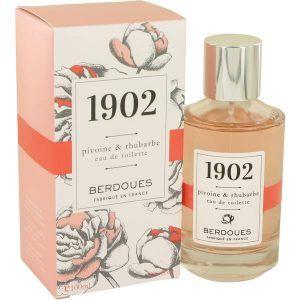 1902 Pivoine & Rhubarbe Perfume, de Berdoues · Perfume de Mujer