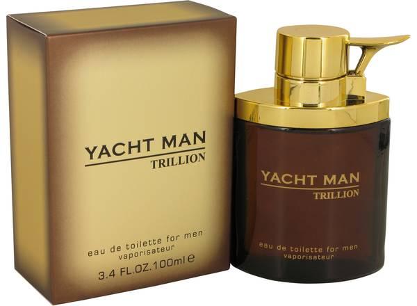 perfume Yacht Man Trillion Cologne