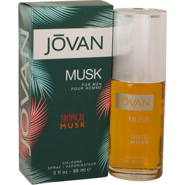 perfume Jovan Tropical Musk Cologne