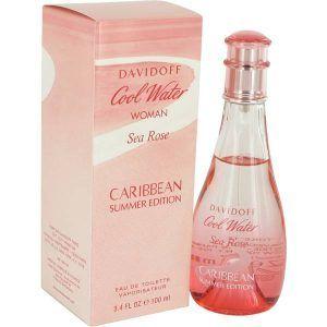 Cool Water Sea Rose Caribbean Summer Perfume, de Davidoff · Perfume de Mujer