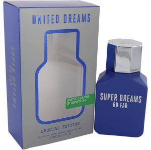 United Dreams Super Dreams Go Far Cologne, de Benetton · Perfume de Hombre