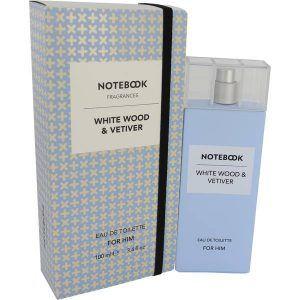 Notebook White Wood & Vetiver Cologne, de Selectiva SPA · Perfume de Hombre