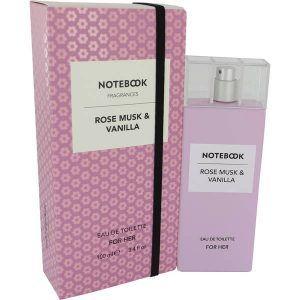 Notebook Rose Musk & Vanilla Perfume, de Selectiva SPA · Perfume de Mujer