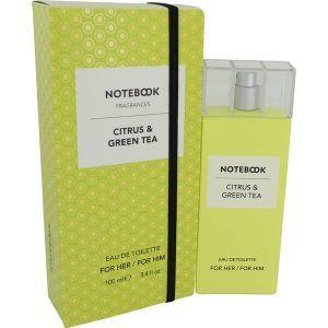 Notebook Citrus & Green Tea Perfume, de Selectiva SPA · Perfume de Mujer