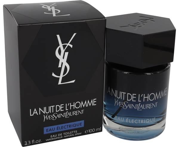 perfume La Nuit De L'homme Eau Electrique Cologne