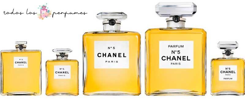 Chanel nº 5 - Guia para principiantes del perfume - todos los perfumes